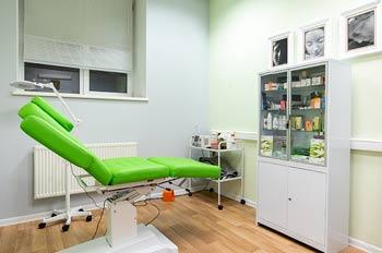 кабинет врача в центре косметологии на Пресне