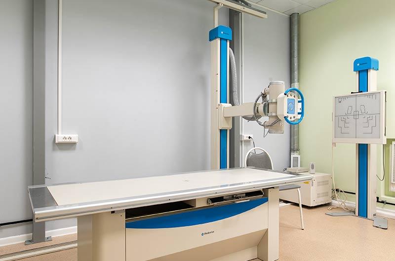 рентген на Пресне
